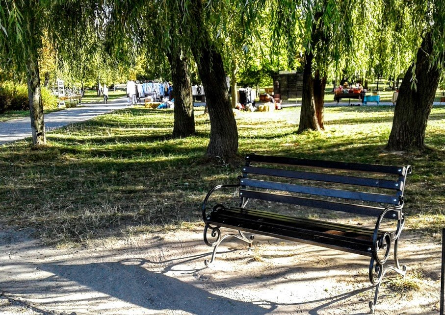 Скамейка в парке - Наталия Каминская