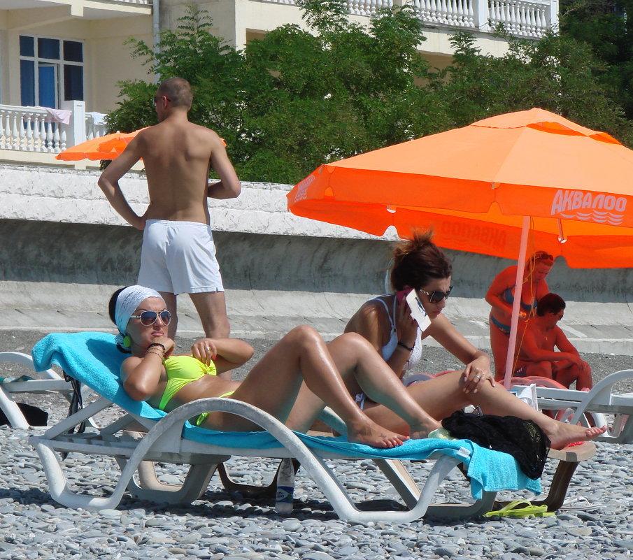 На пляже - Михаил Битёв
