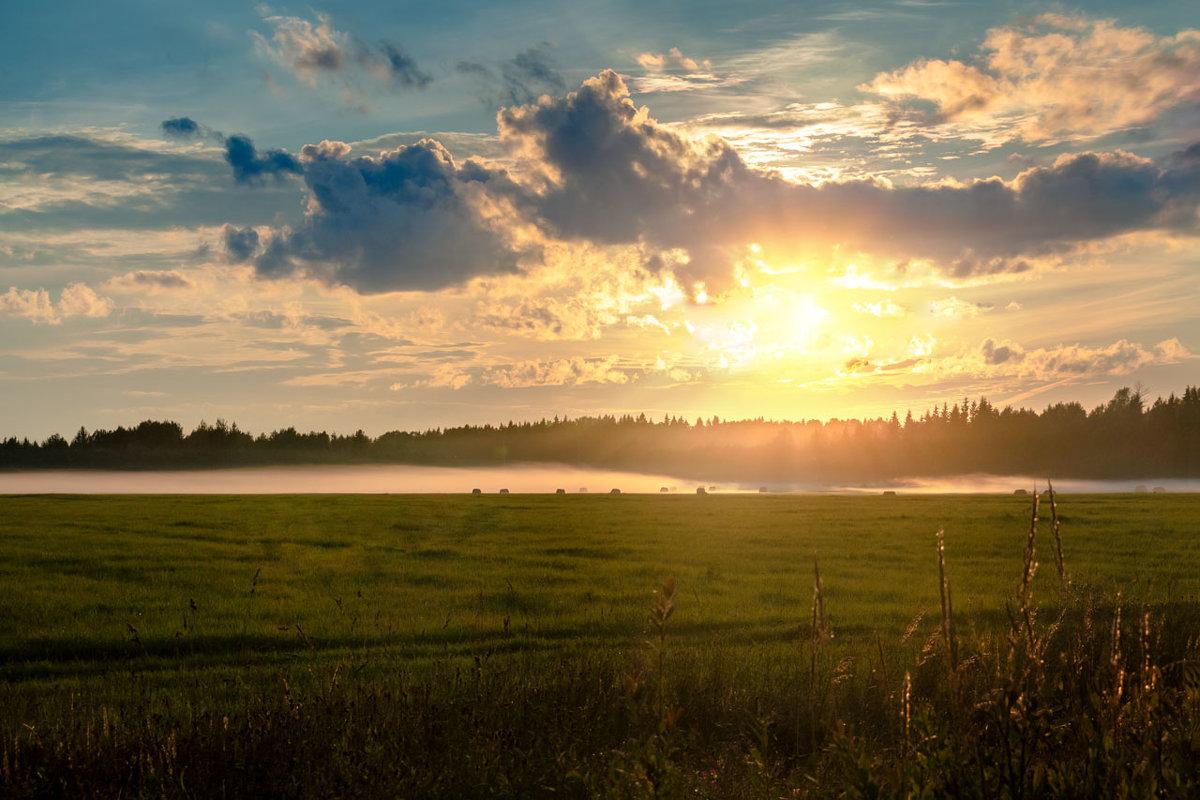 На закате - Владимир Миронов