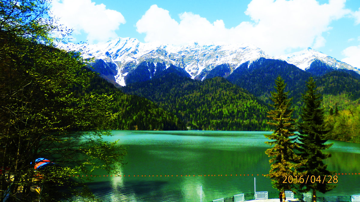 Озеро РИЦА - Таня