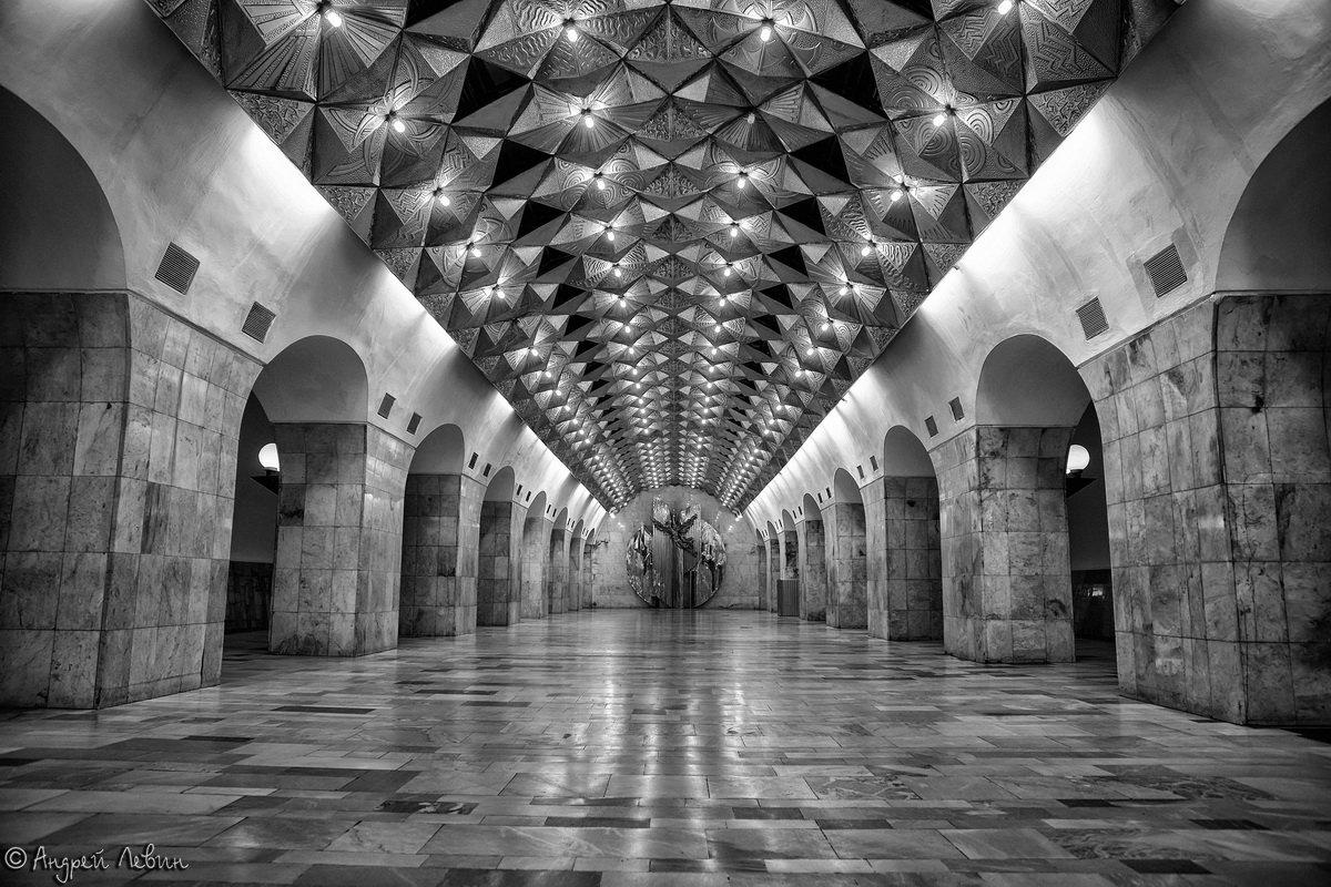Московское метро. Станция Авиамоторная - Андрей Левин