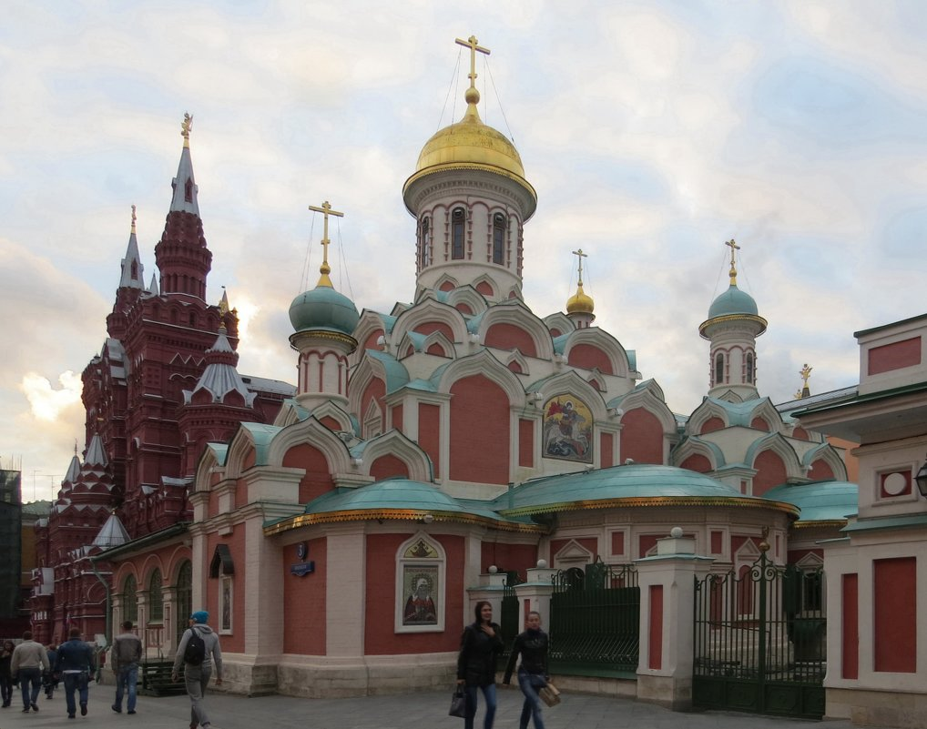 Москва, Казанский собор - Вера Щукина