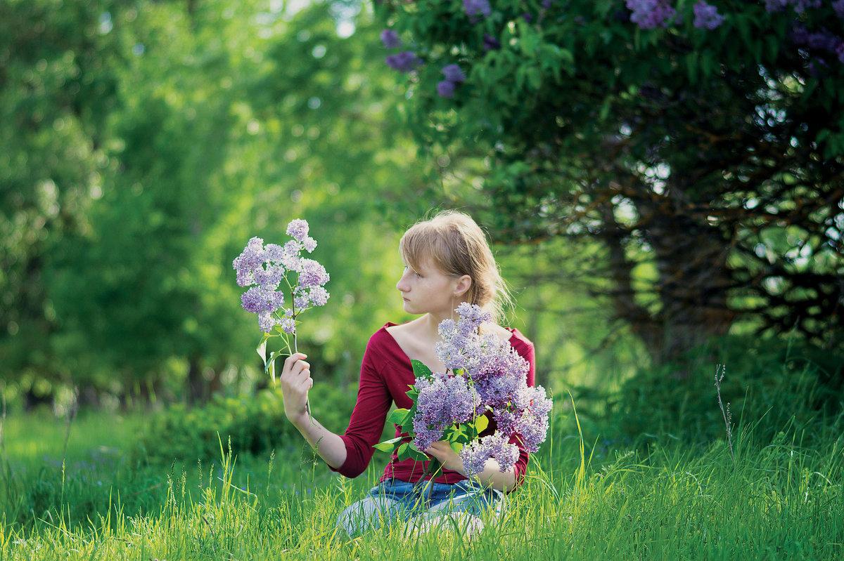 Сирень цветёт - Вера Сафонова