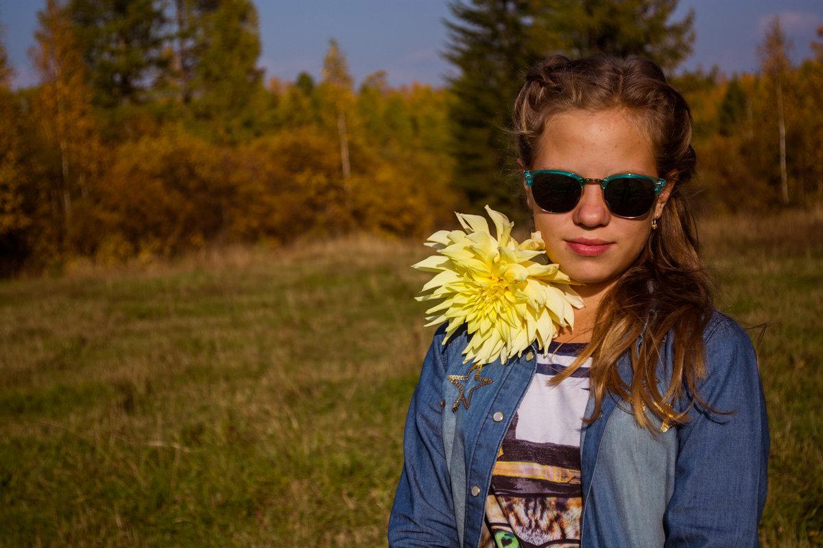 теплая осень... - Светлана