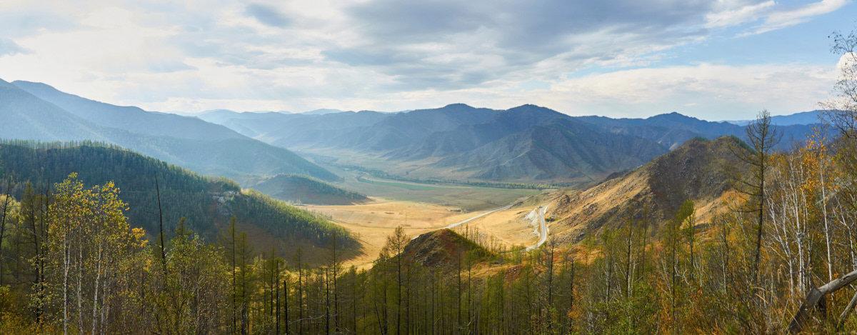 Вид с перевала Чике-Таман - Николай Мальцев