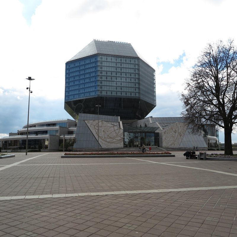 Национальная библиотека Беларуси - Оксана Кошелева