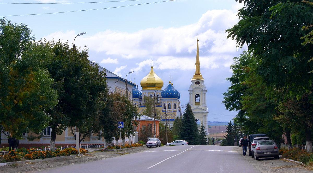 г. Болхов  вид на собор Преображения Господня - Елена Кирьянова
