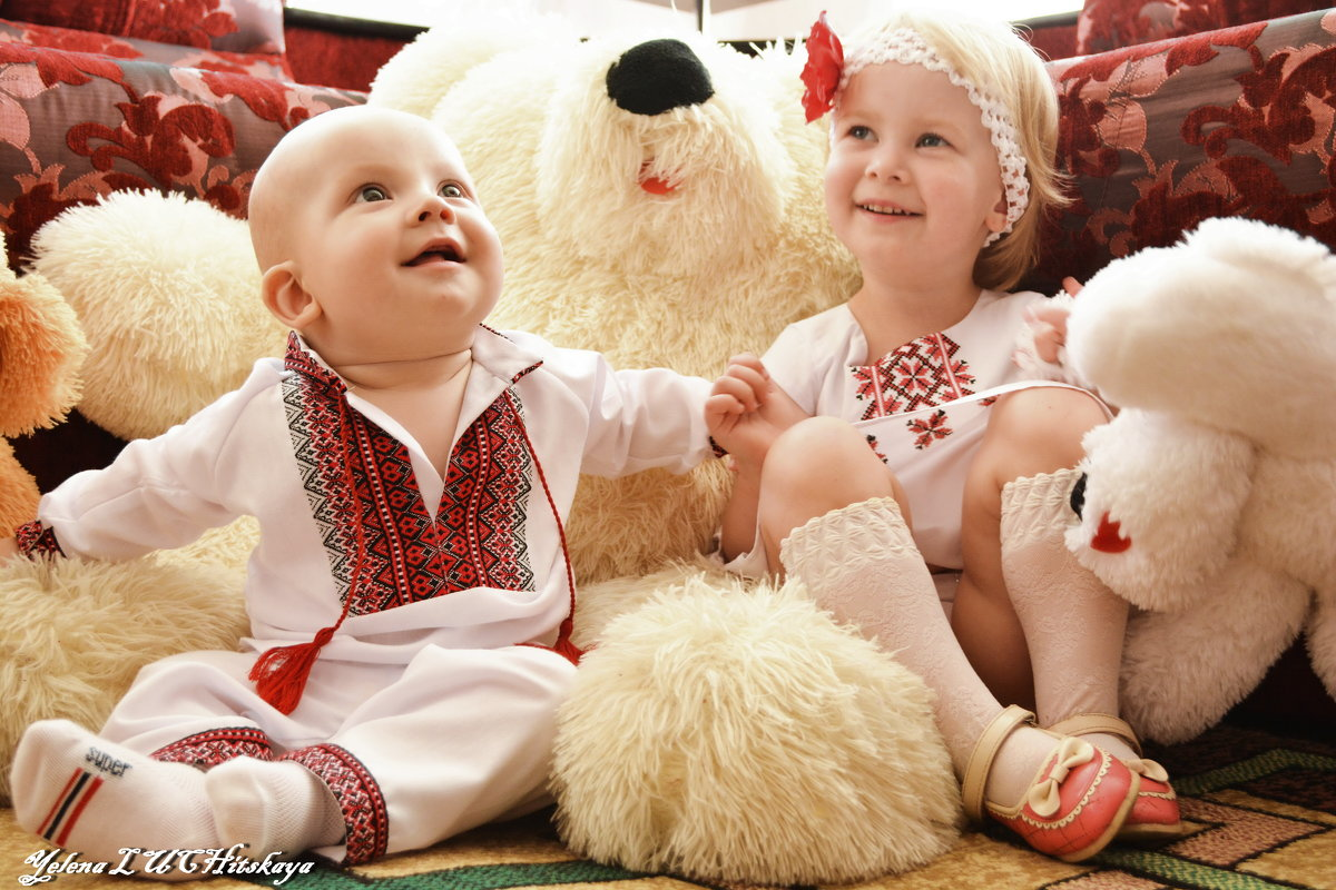 Когда смеются дети - Yelena LUCHitskaya