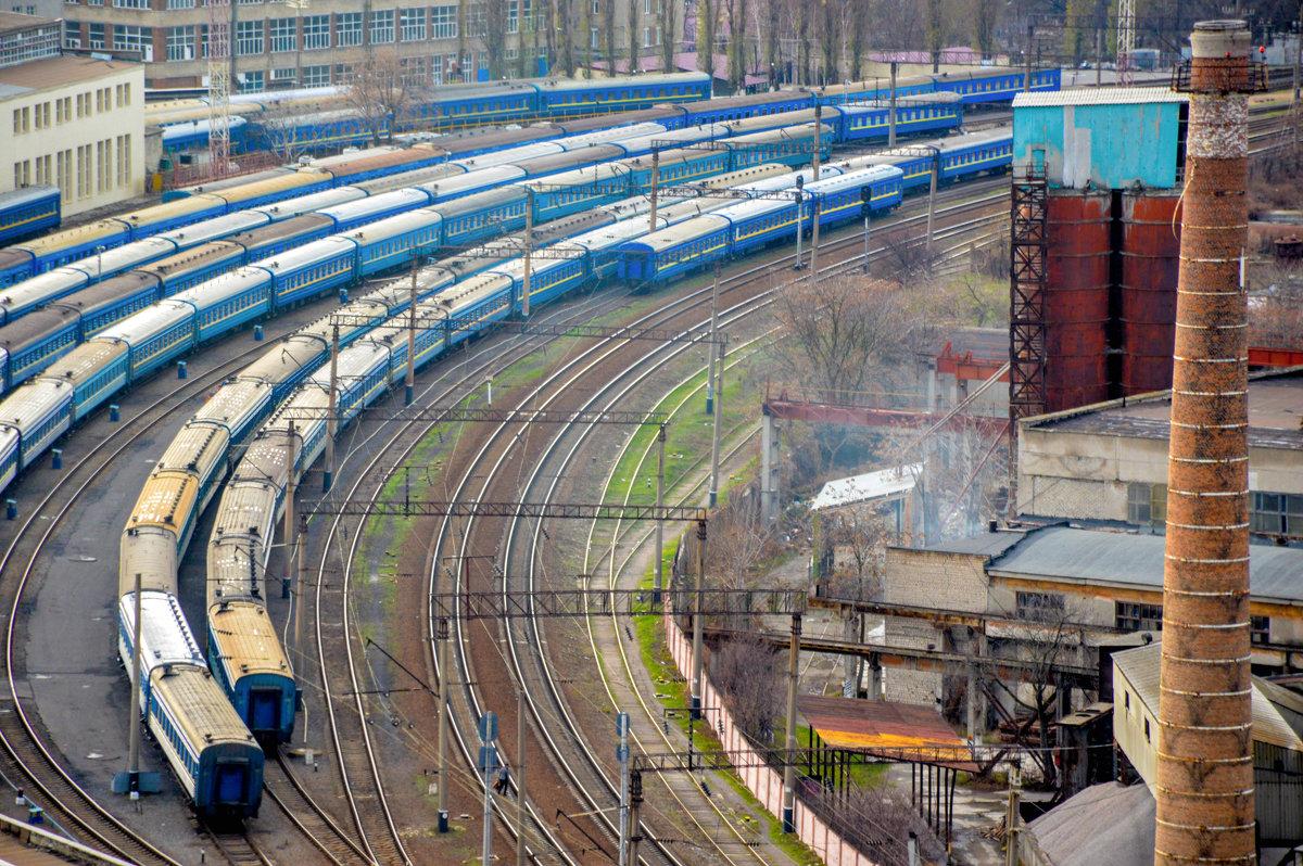 Поезда, поезда, поезда... - Марина Семенкова