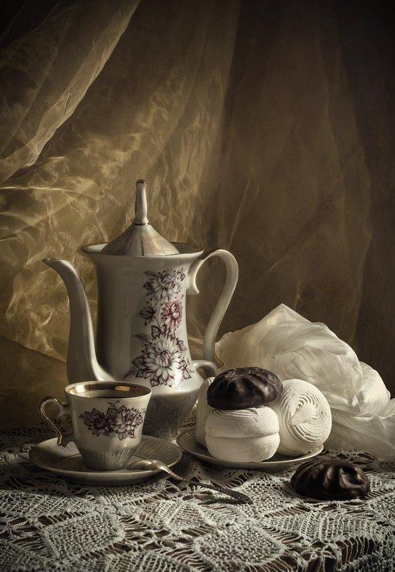 За чашечкой кофе. - Елена Данько
