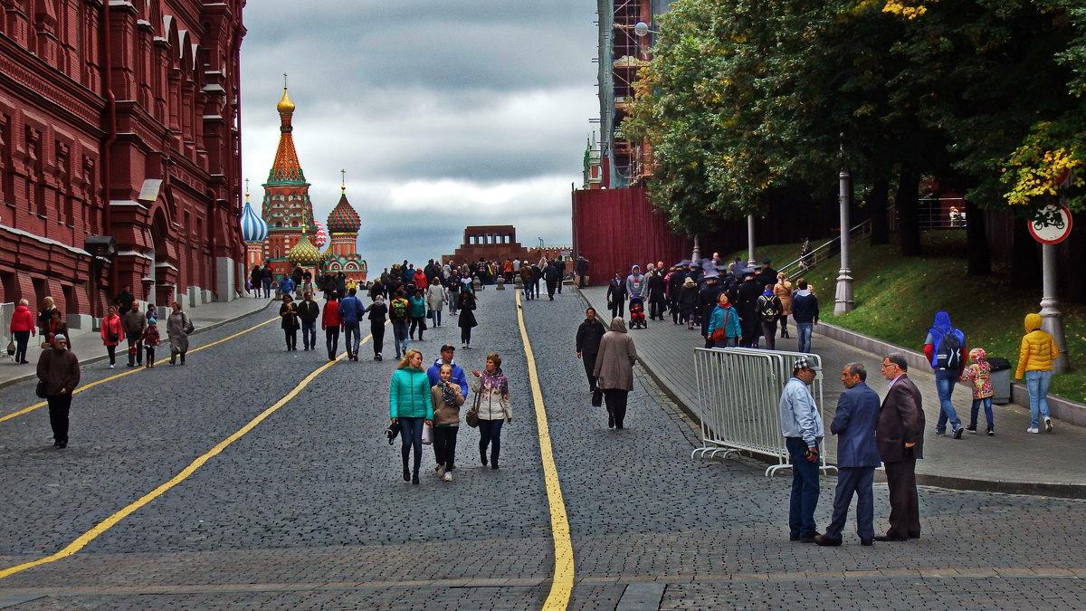 Москва в сентябре. - Лара ***