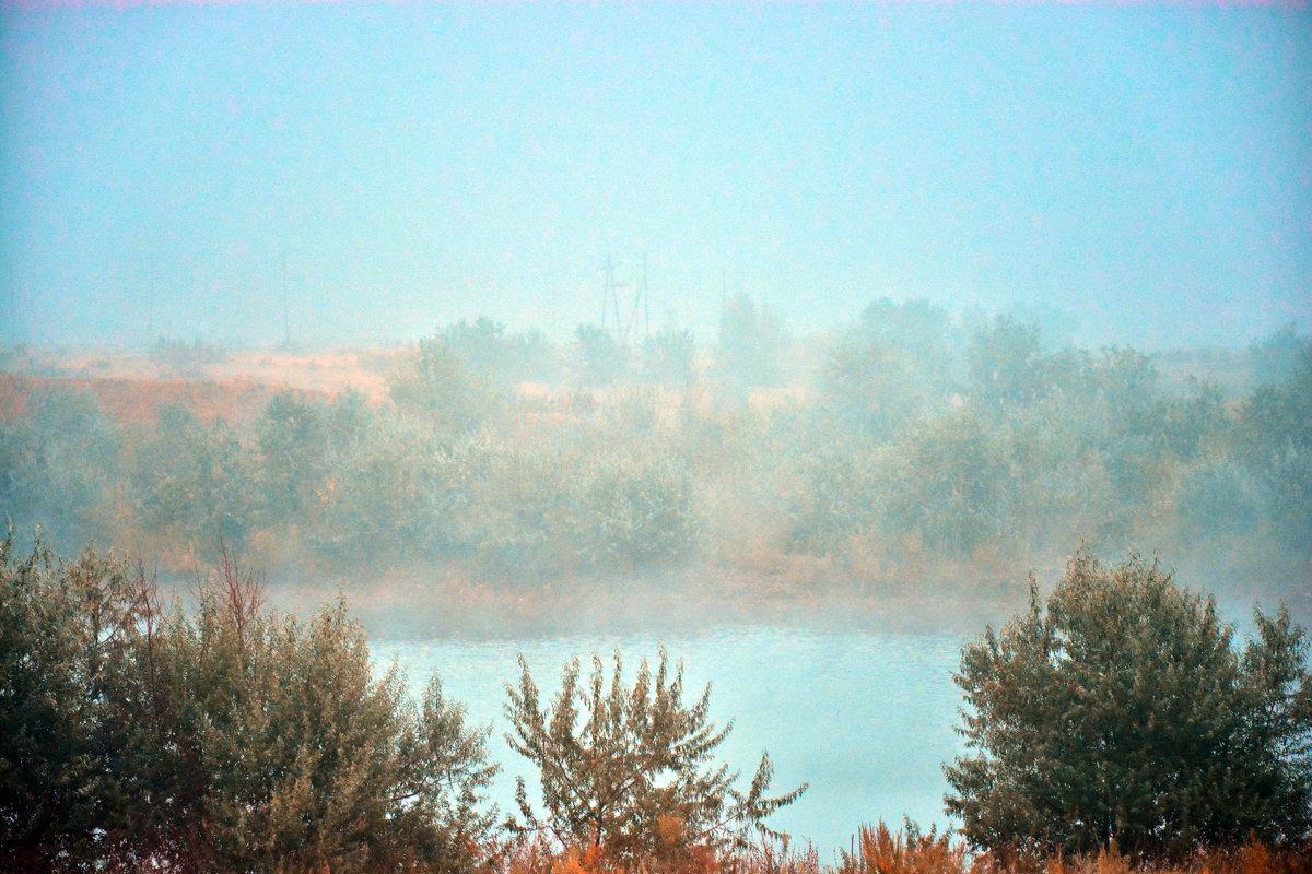 Озеро,туман. - Юрий Фёдоров