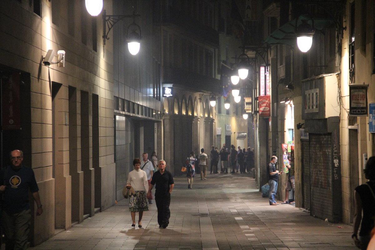 Ночь в Барселоне. - Larisa Gavlovskaya
