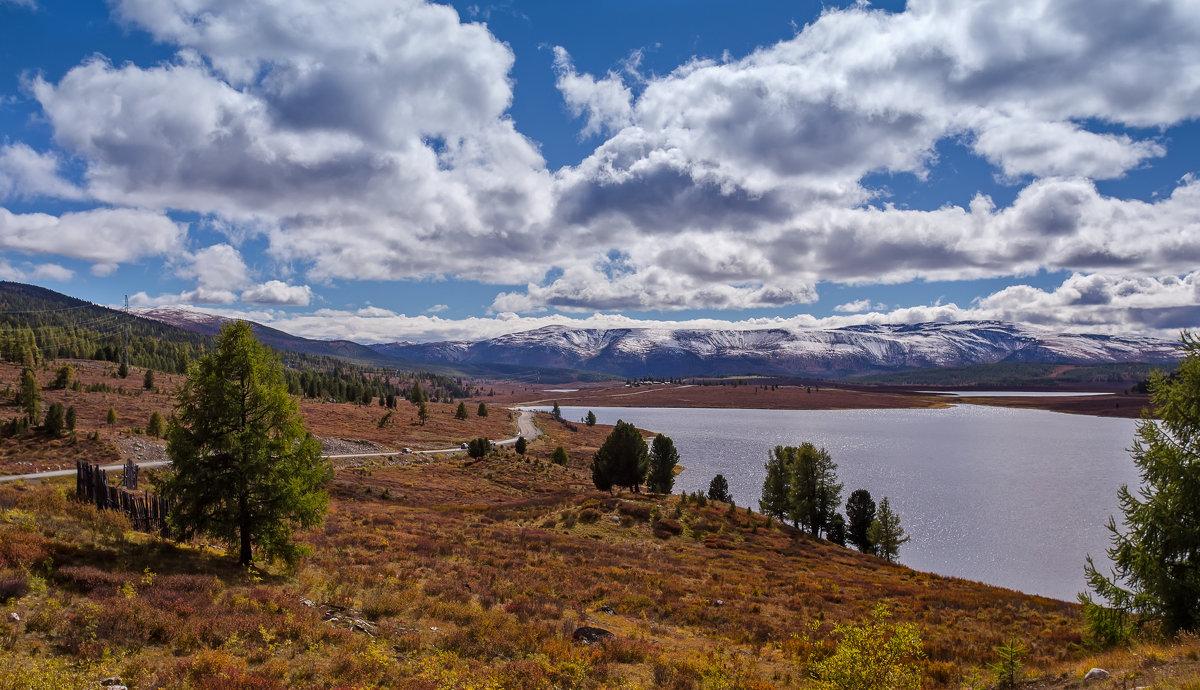 Дорога вдоль улаганских озер - Оксана Арискина
