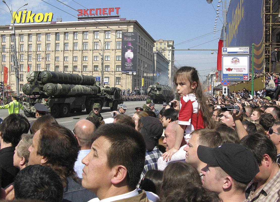 На параде - Владимир Иванов