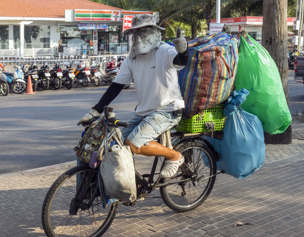 Таиланд. Паттайя. Счастливый мусорщик - Владимир Шибинский
