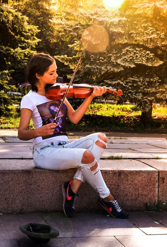 Скрипачка - Геннадий Беляков