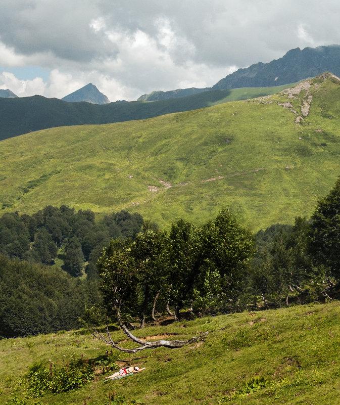 в горах - Андрей ЕВСЕЕВ
