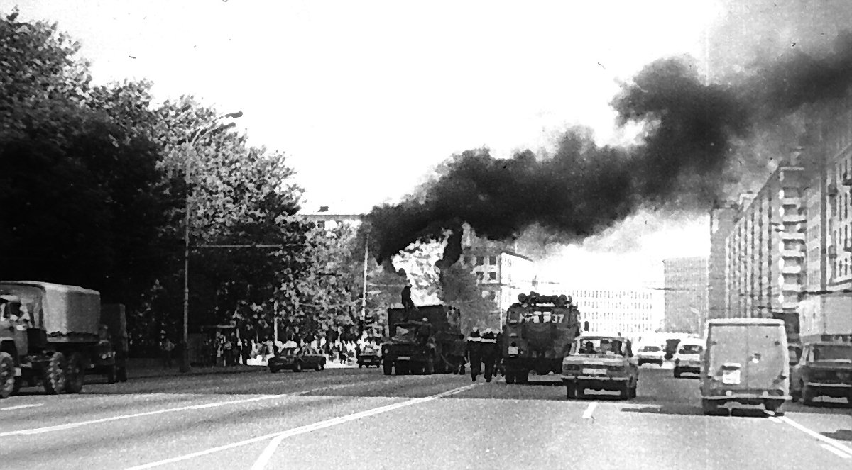 Пожар на Ленинском проспекте 1 - Борис Александрович Яковлев