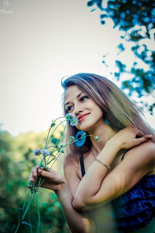 все девушки любят цветы! - Виктория Левина