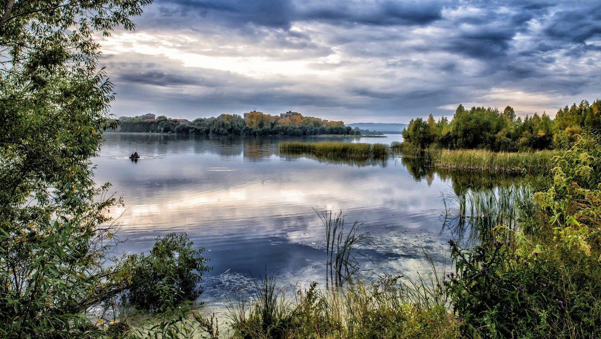 autumn evening - Dmitry Ozersky
