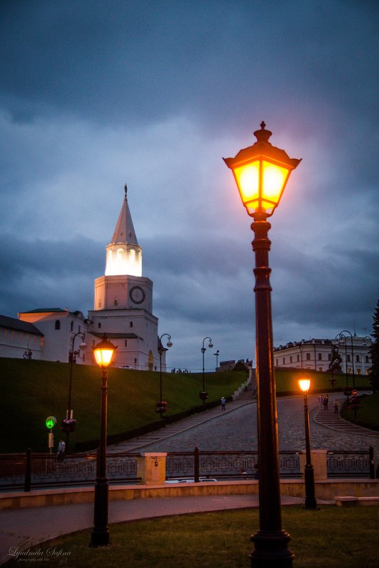 Казань, Кремль - Людмила Сафина
