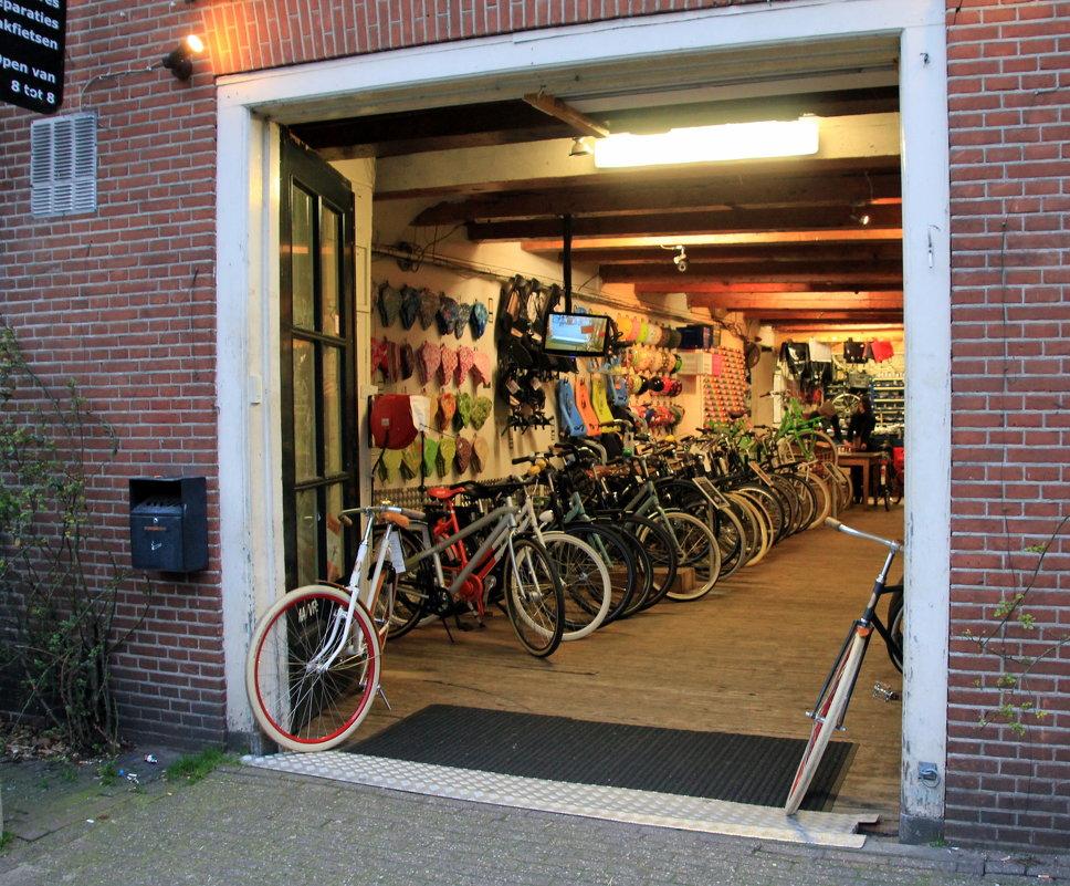 Рай для любителей велосипедов:-) - Olga