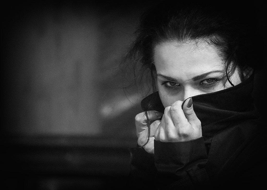 черно белый портрет - Сергей Кумач