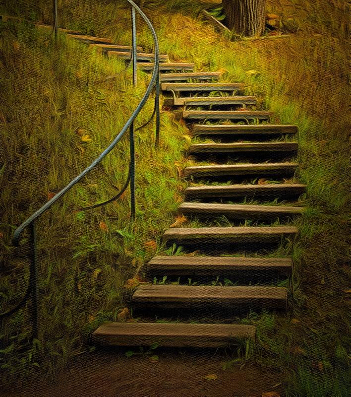 Осенние ступеньки... - Tatiana Markova