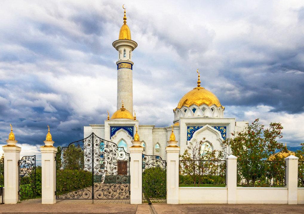 Сельская мечеть - Любовь Потеряхина