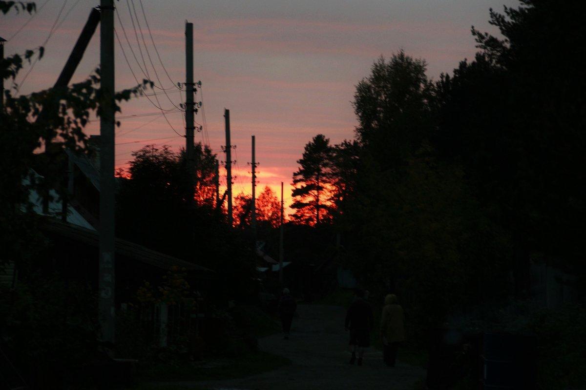 вечер в деревне - ALEXSEM фоточайник