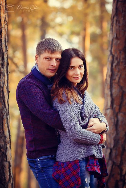 Люблю фотографировать любовь...Анюта и Александр - Аннета /Анна/ Шу