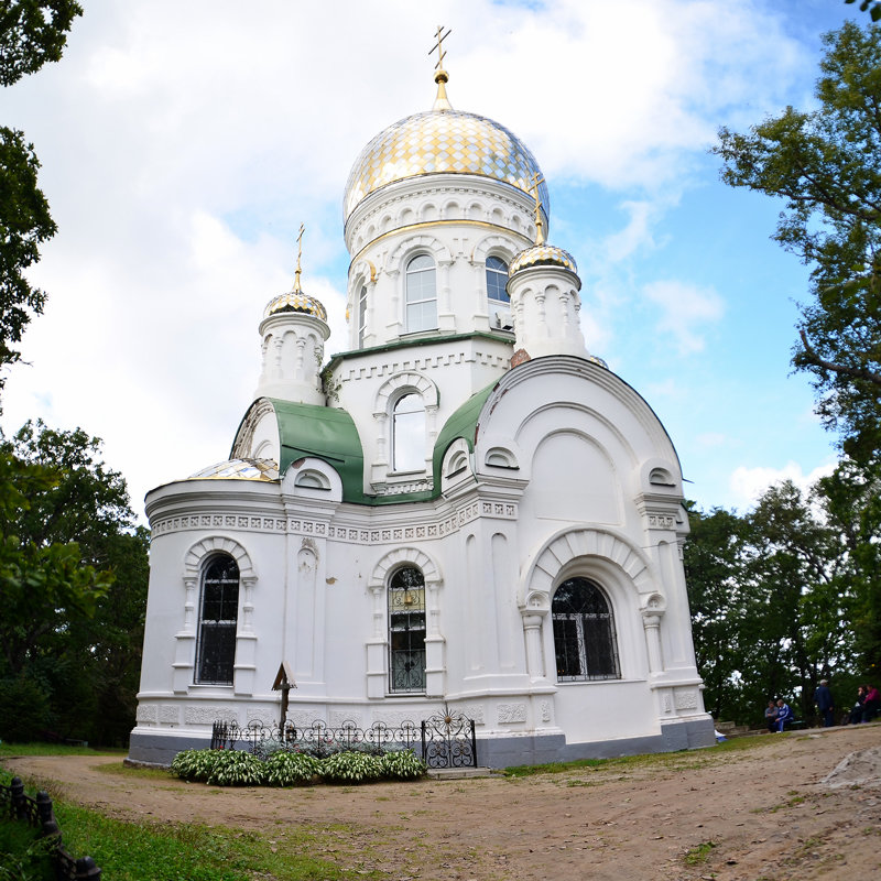 Храм-часовня Преображения Господня - Александр Морозов
