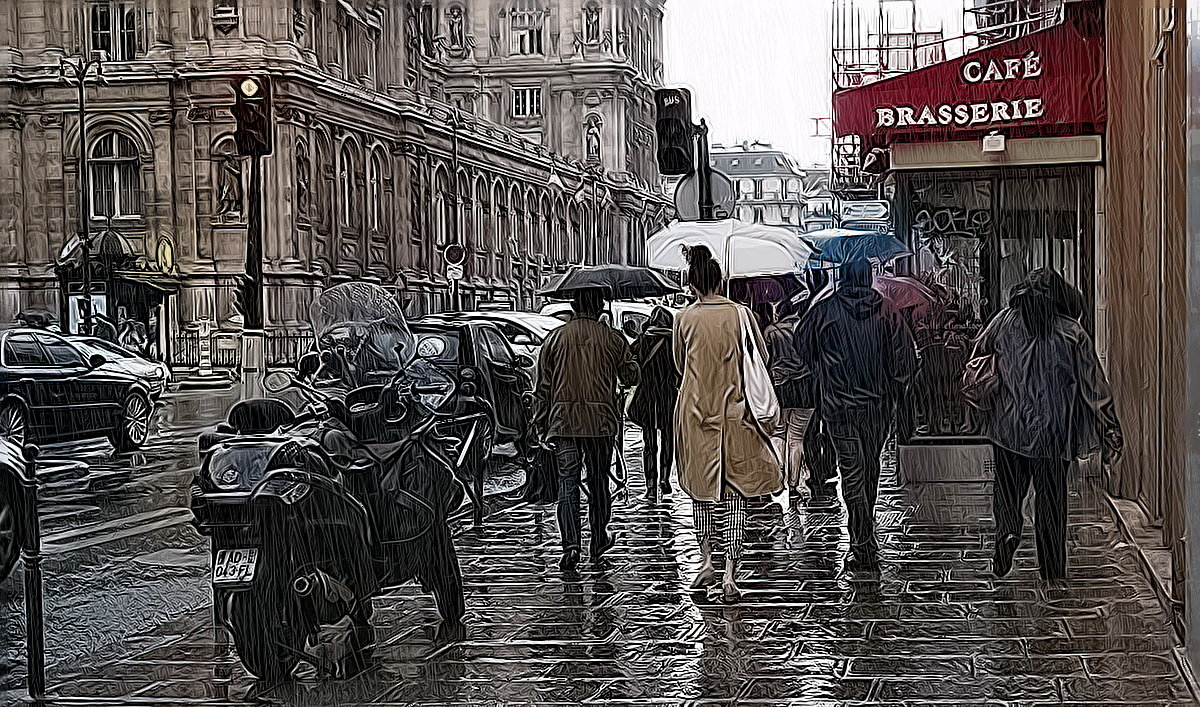 В Париже тоже дождь... - igor