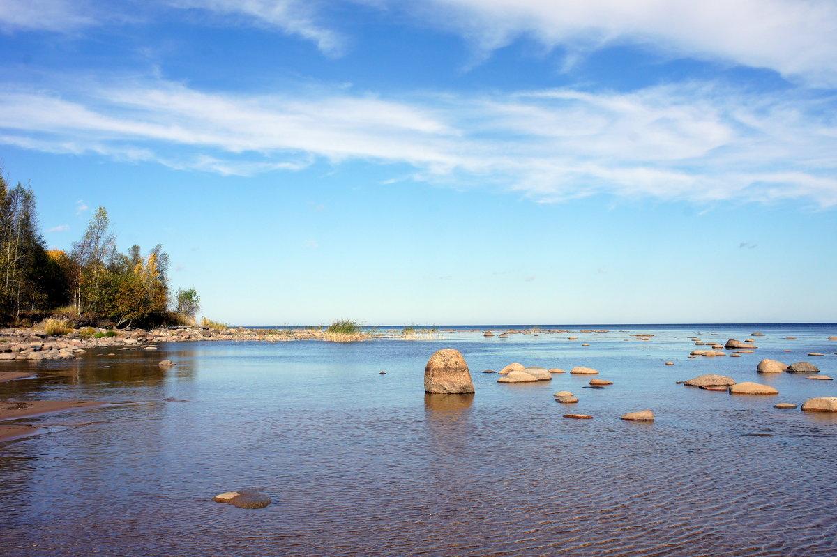 Ладожское озеро. Осень - Елена Павлова (Смолова)