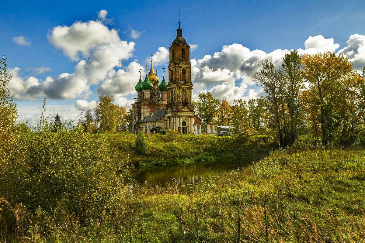 Русские храмы в старинных селах Ярославщины. - Алла ************