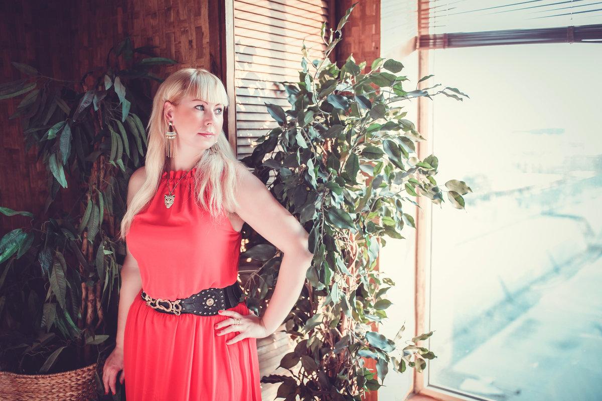 lady in red - Марина Денисова