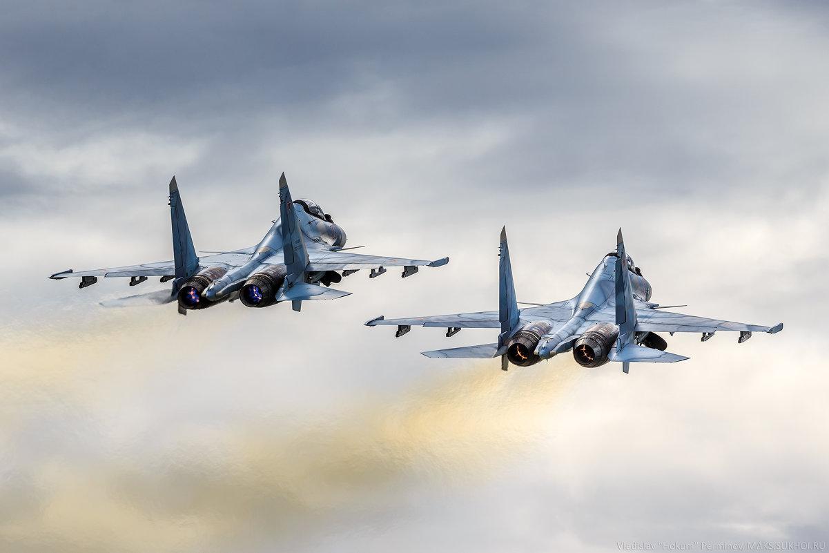 """Су-30СМ """"Соколы России"""" - Владислав Перминов"""