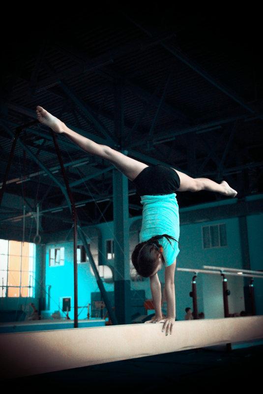 спортивная гимнастика - Anastasia Silver