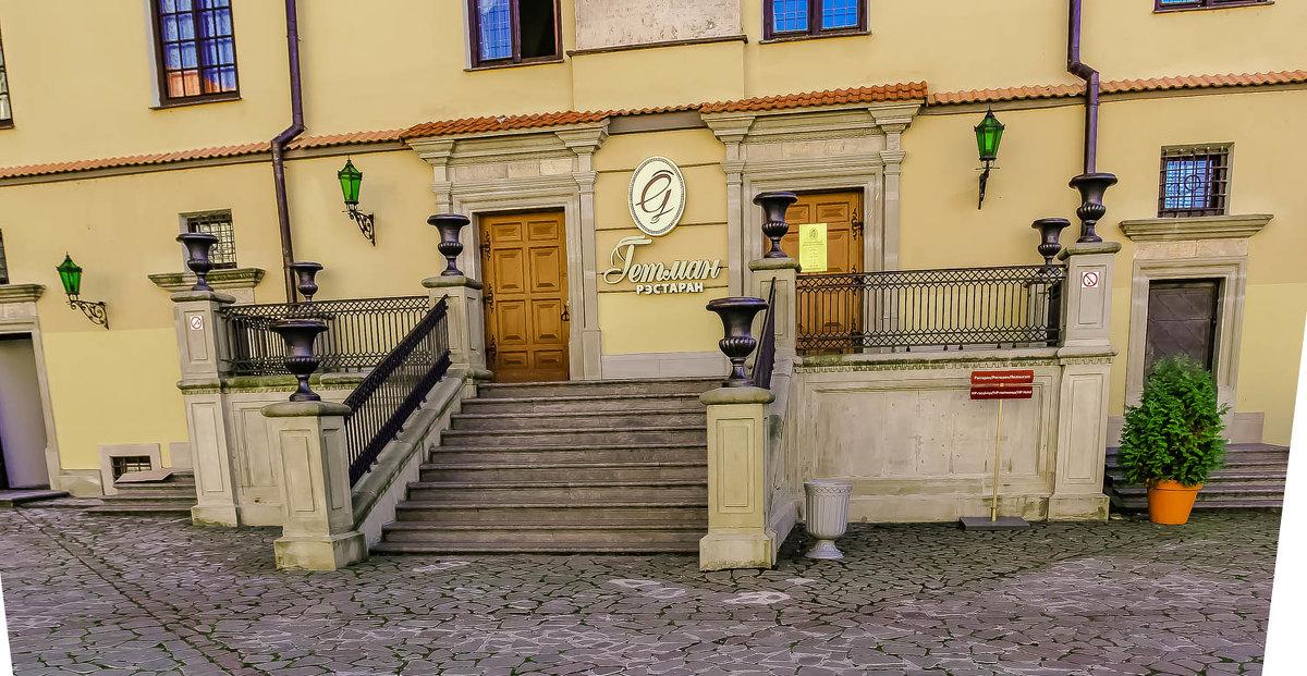 Замок Радзивиллов в Несвиже, XVI в. Во дворе замка. - Nonna
