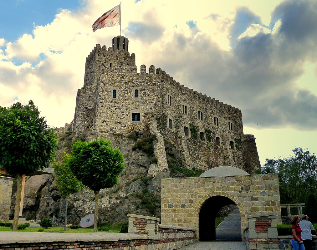 Грузия, крепость Рабат. - Игорь