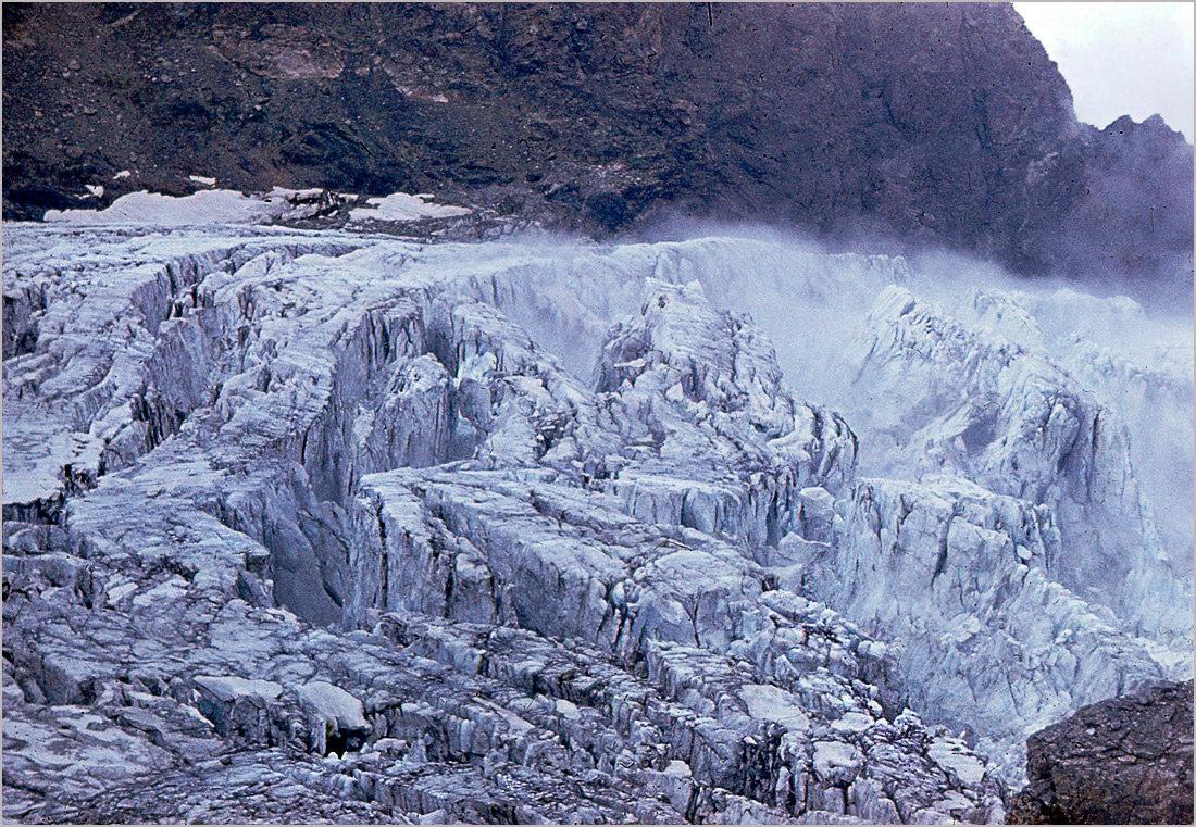 Цейский ледник. Ледопад. Кавказ - Lmark