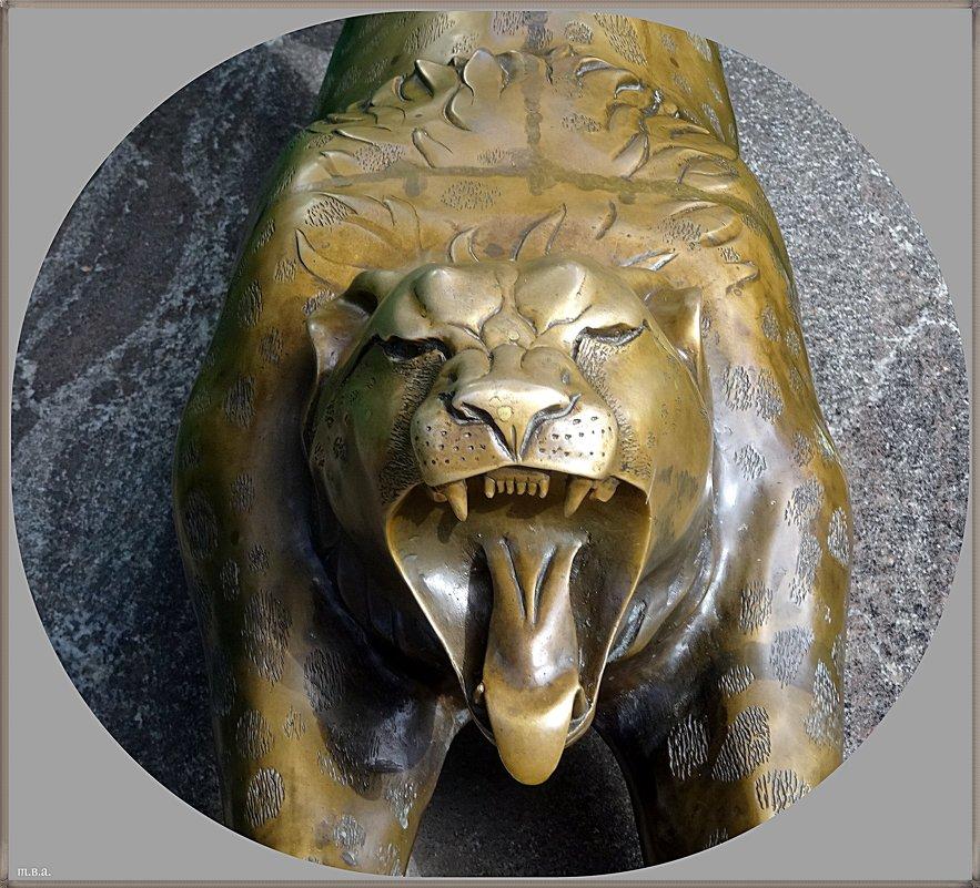 Скульптура гепард - Вера