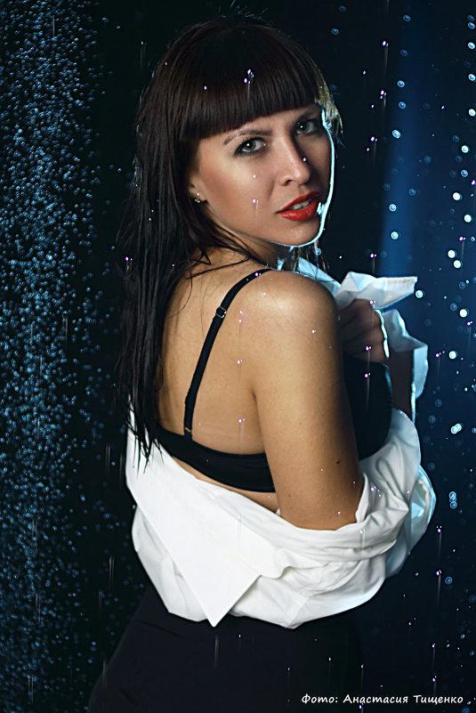 Фотосессия в аквазоне - Анастасия Тищенко
