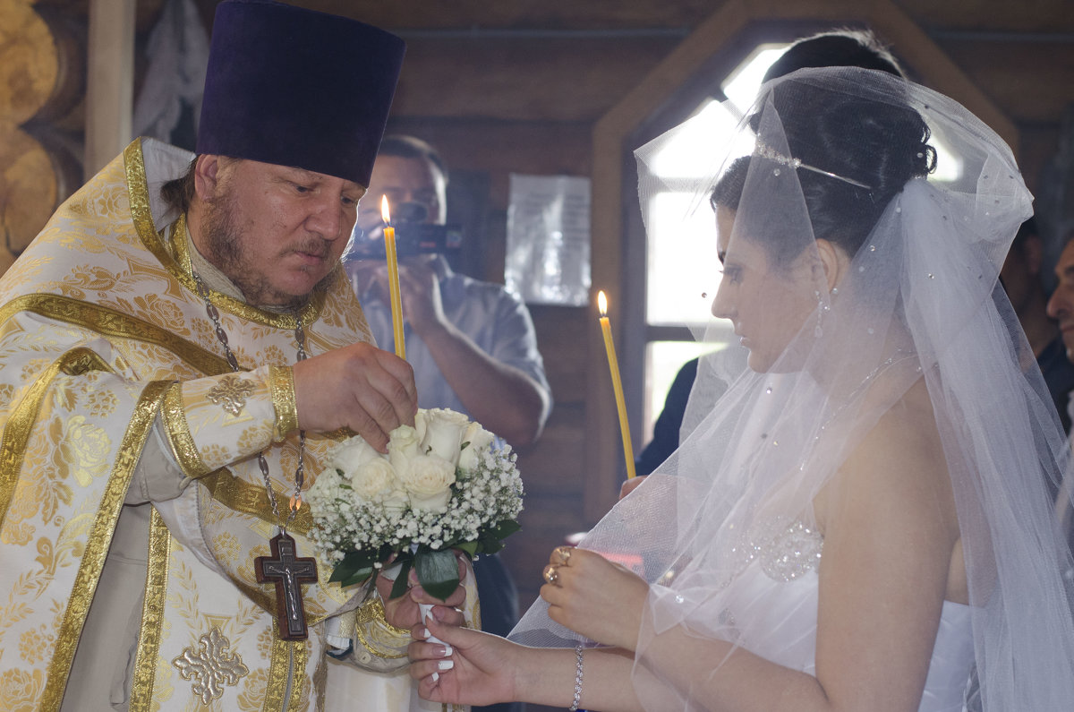 венчание в храме - Ольга Русакова