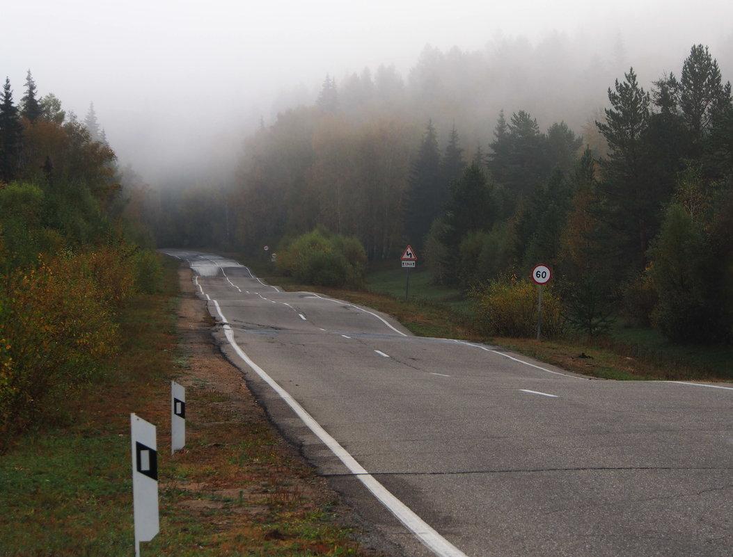 Через туман и по таким дорогам... - Александр Попов