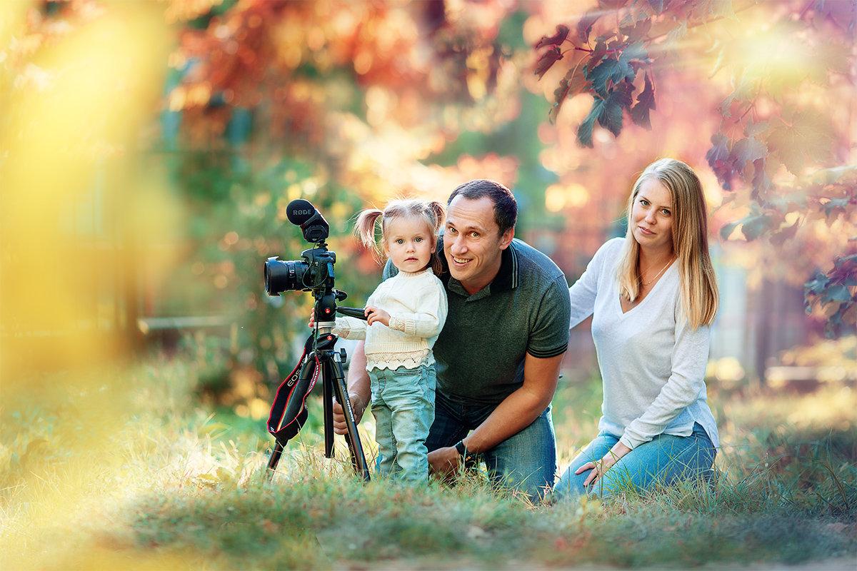 портрет семьи фотографа - Света Солнцева
