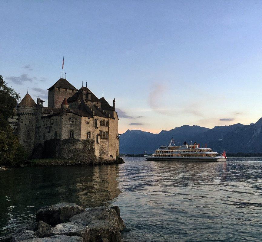 Шильонский замок. Швейцария - Ирина Бирюкова