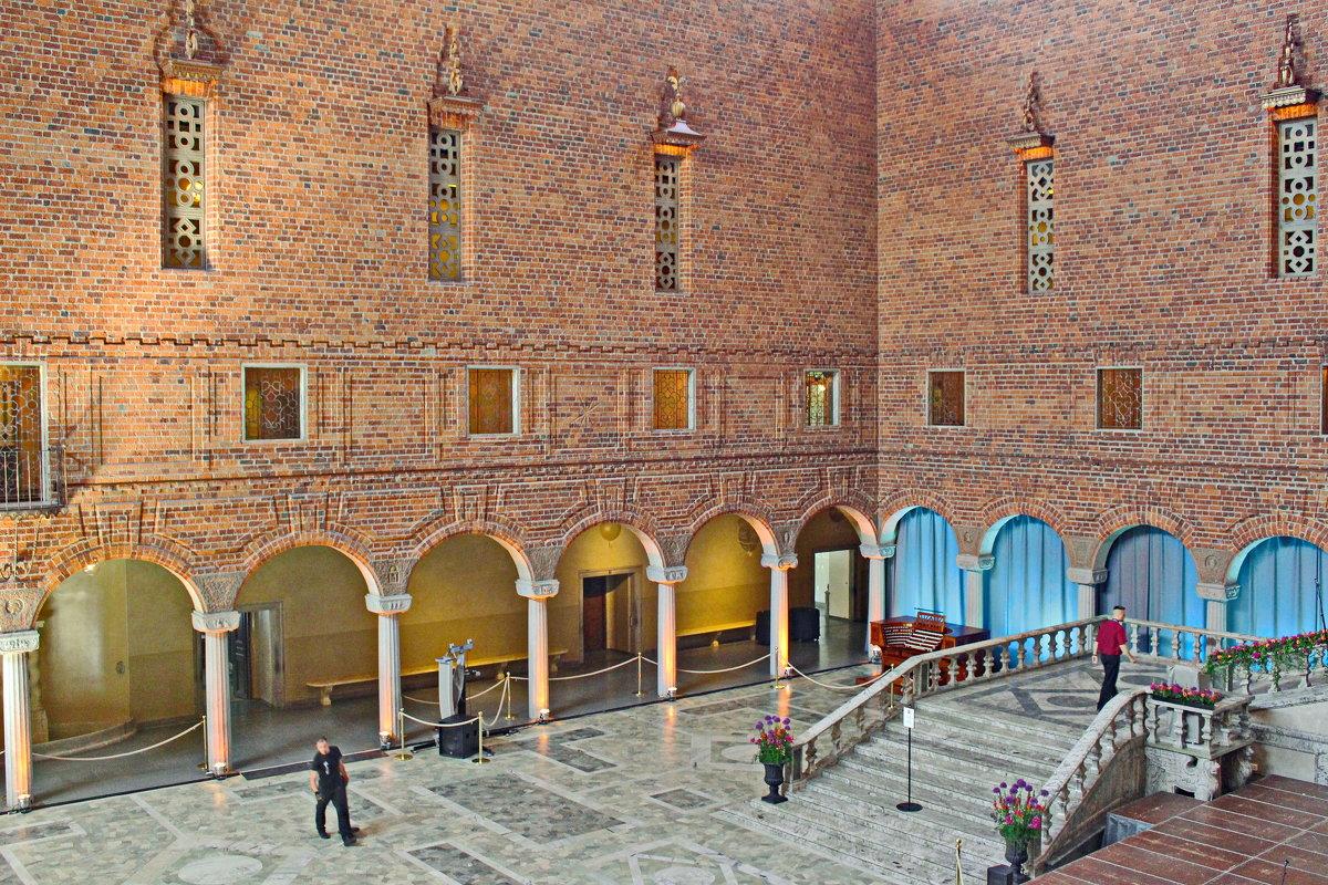Стокгольмская ратуша. Голубой зал - Олег Попков
