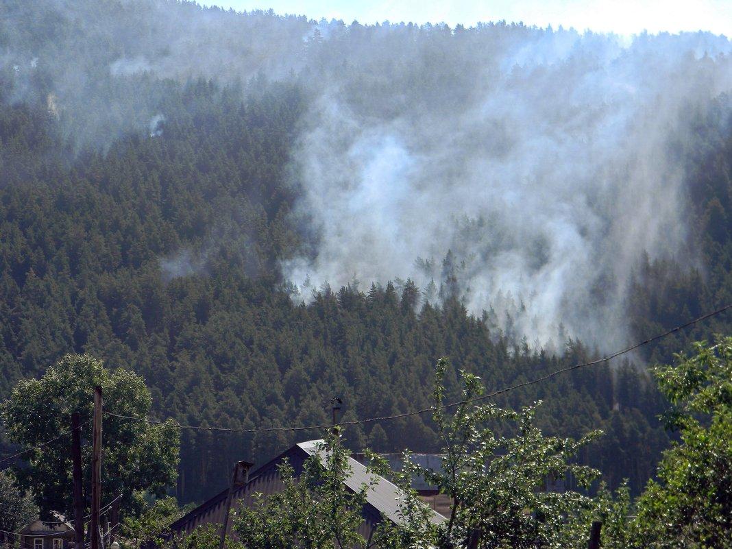 Пожар в горах - Вера Щукина